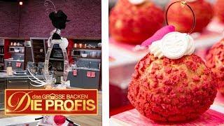 XXL-Luxus-Kuchen mit edlen Windbeuteln | 1/3 | Aufgabe | Das große Backen – Die Profis | SAT.1