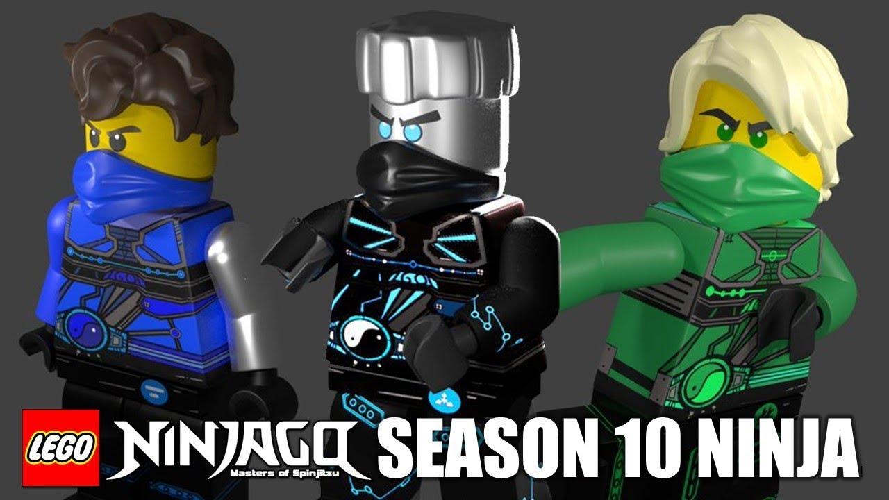 Lego ninjago season 10 new ninja minifigures fan made - Ninjago saison 2 ...