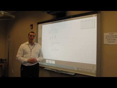 Introduction to the conference room Smart board