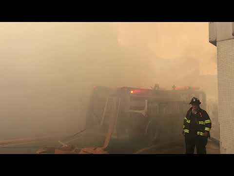 New Kensington multiple structure fire