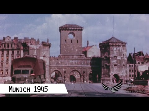 Munich 1945 (in color and HD)