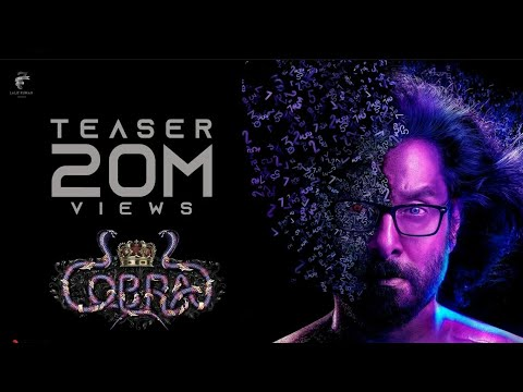 Cobra - Official Teaser   Chiyaan Vikram   AR Rahman   R Ajay Gnanamuthu   7 Screen Studio