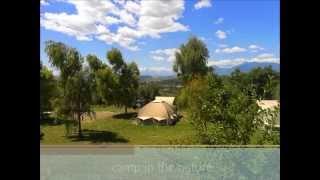 Kleine camping Agriturismo Villa Bussola, Le Marche Italië