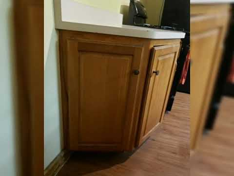 Restoring/Refinishing a kitchen and Cabinets - YouTube
