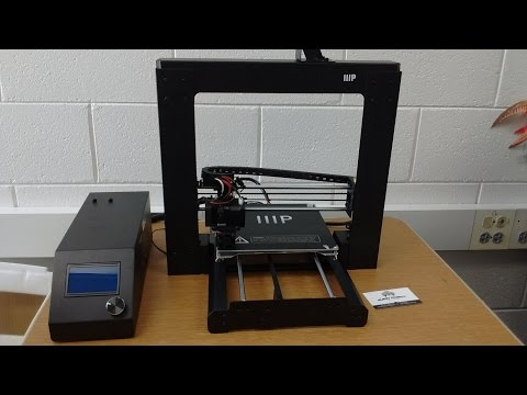 Getting Started with the Monoprice 3D printer