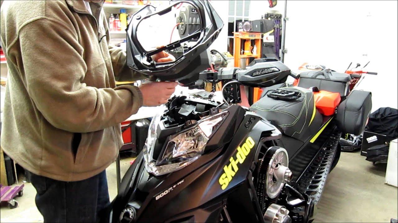 2014 Ski Doo Snowmobile Headlight Wiring Diagram Ski Doo Gps Installation Garmin Montana 650t Youtube