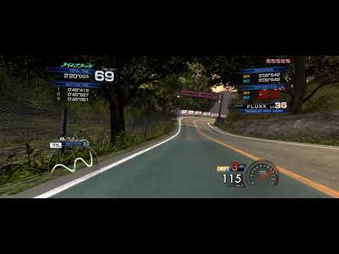 Initial D Arcade Stage 6 AA PC Gameplay (AE86T, Tsubaki Line 3:07:911)