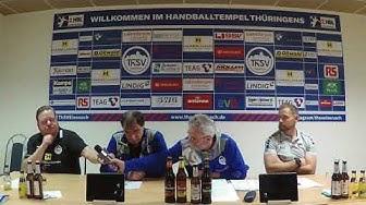 Pressekonferenz ThSV Eisenach vs SG BBM Bietigheim