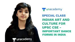 Special Class - Important Dance Forms of India - Art and Culture for UPSC CSE - Arti Chhawari