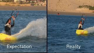Expectation VS Reality Kitesurfing