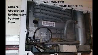 RV Refrigerator maintenance, care and settings (answers to a viewer)