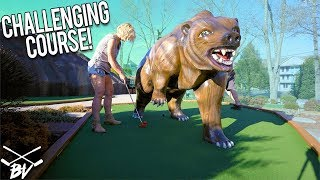 I CAN NOT BELIEVE HE DID THIS WHILE PLAYING MINI GOLF! | Brooks Holt