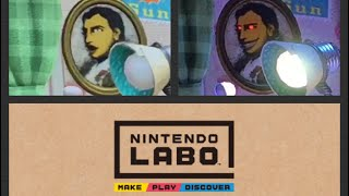 Don't Turn Off The Lights - Nintendo Labo