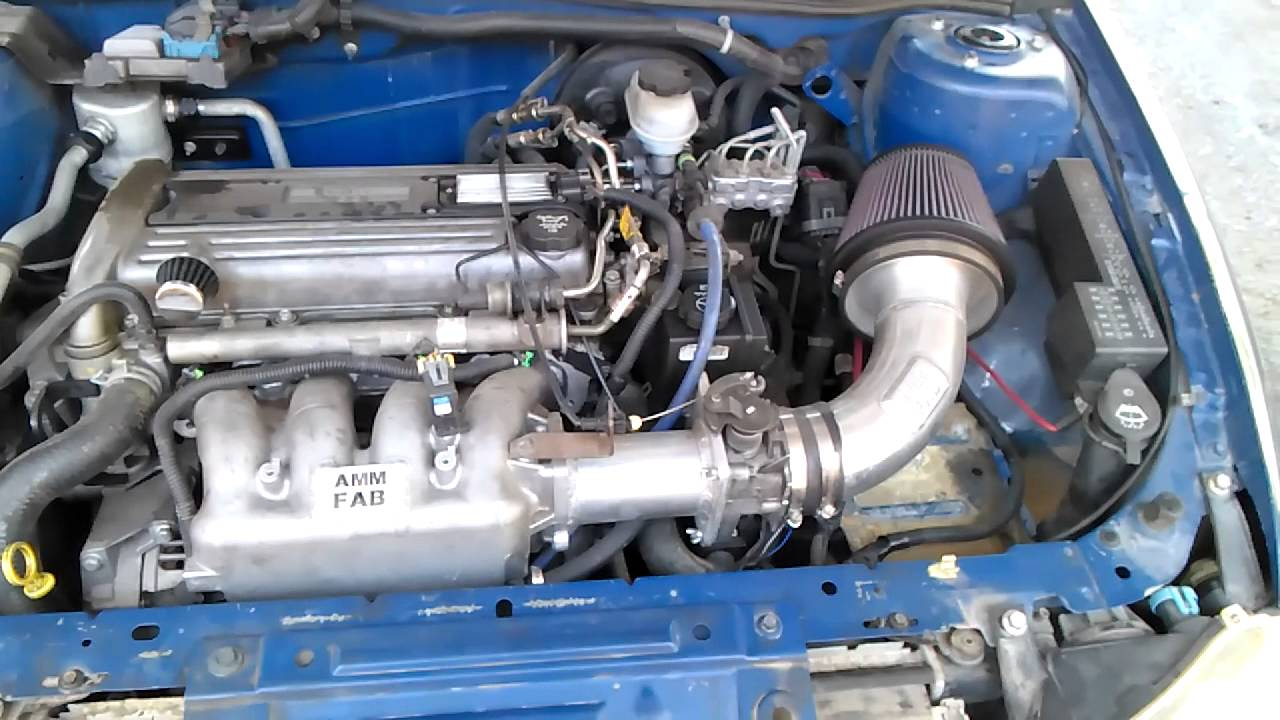chevrolet cavalier engine 2 2 diagram inside cavalier 2.2 ecotec racing aire intake kit - youtube