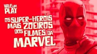 Os super-heróis mais zoeiros dos filmes da marvel! - vale um play