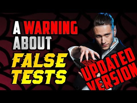UPDATED VERSION - To Seventh-day Adventists: A Warning About False Tests