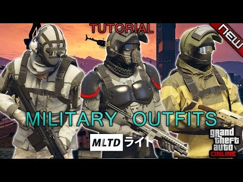 *NEW* TOP 3 MILITARY OUTFITS   DOOMSDAY HEIST   1.42   GTA Online   Military outfits