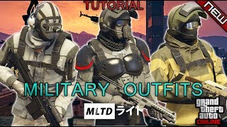 *NEW* TOP 3 MILITARY OUTFITS | DOOMSDAY HEIST | 1.42 | GTA Online | Military outfits