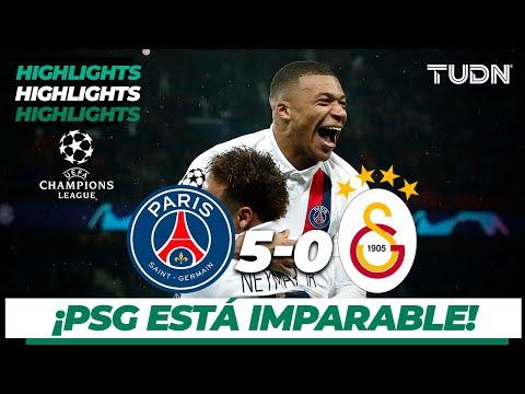 Highlights | Paris Saint-germain 5 – 0 Galatasaray | Champions League – J 6 – Grupo A | Tudn