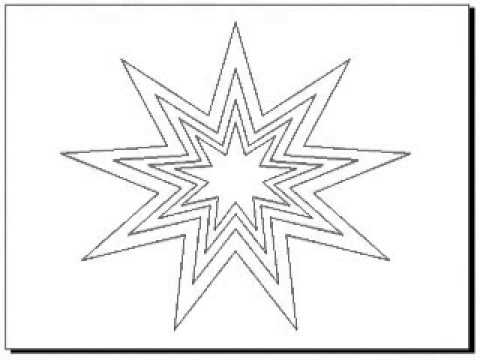 Free Large Star Template Printable for Kids - YouTube - star template