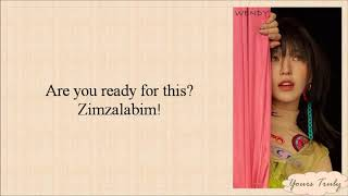Red Velvet (레드벨벳) - Zimzalabim (짐살라빔) Easy Lyrics