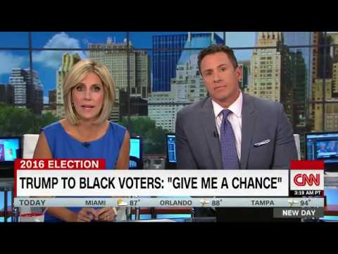 Charles M. Blow Rips Trump's Outreach To Black Voters