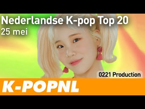 [MUSIC] Dutch K-pop Top 20: 25 May 2018 — K-POPNL