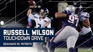 Russell Wilson Leads Impressive TD Drive! | Seahawks vs. Patriots