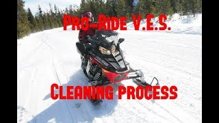 Polaris Pro Ride - Exhaust Valve Cleaning Process (600 and 800)