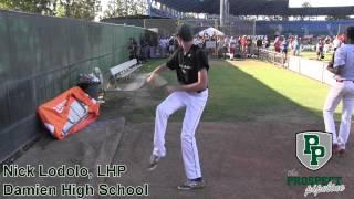 Nick Lodolo Prospect Video, LHP, Damien High School Class of 2016