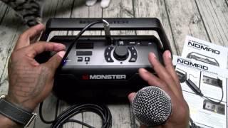 Monster Nomad Indoor/Outdoor Bluetooth Speaker - Giveaway!!!