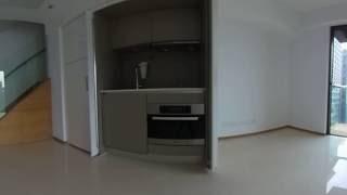 $0租金一年 - 銅鑼灣道複式單位下層 (360°效果)