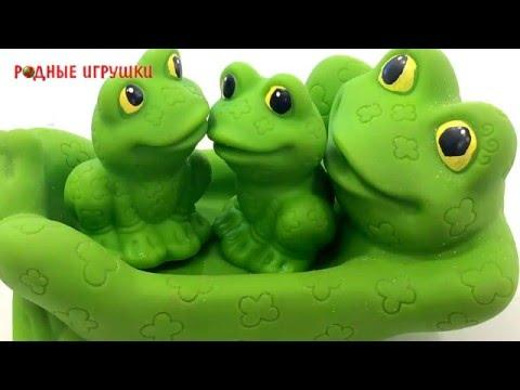 Резиновые лягушки для ванной Артикул С 715