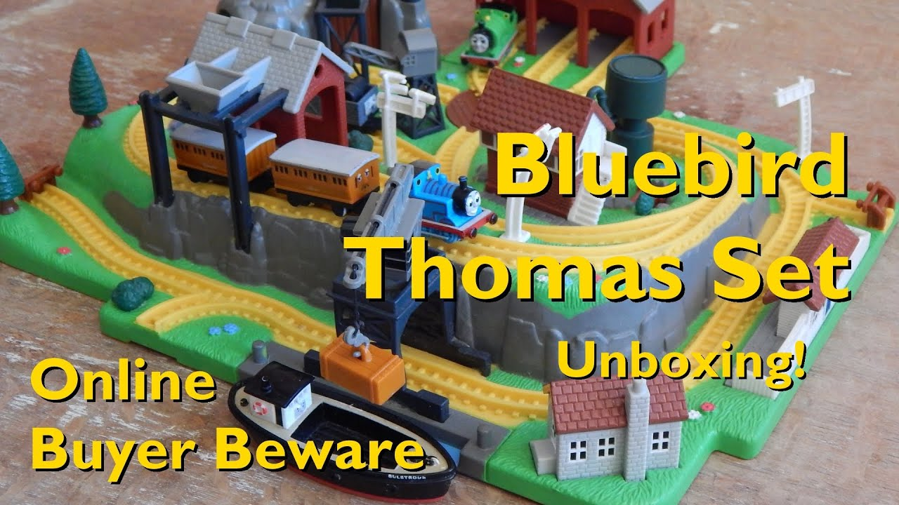 Bluebird Toys Thomas Miniature Railway | Unboxing | Will I Be Ripped Off? | Beware Buying Online ...