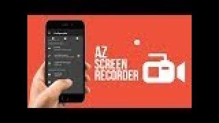 Як налаштувати AZ Screen Recorder