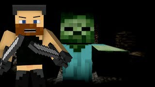 ZOMBIE NAS GONIĄ! - Minecraft MiniGame!