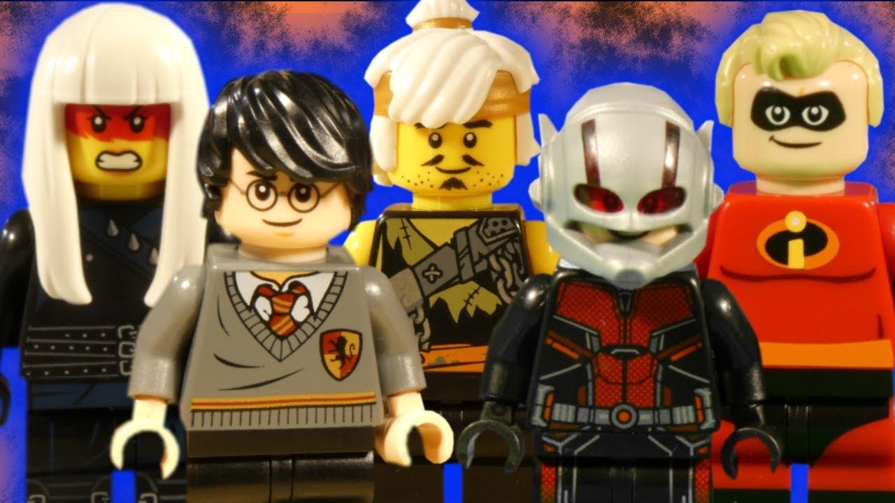 LEGO MEGA MIX - NINJAGO - HARRY POTTER - ANT-MAN - INCREDIBLES