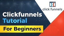 CLICKFUNNELS TUTORIAL 2018 - 2019 HOW TO BUILD A LANDING PAGE AND FUNNEL IN LESS THAN 10 MINUTES!