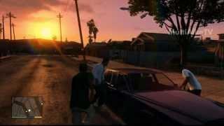 Видео GTA 5 # 5 Едем в магазин оружия.