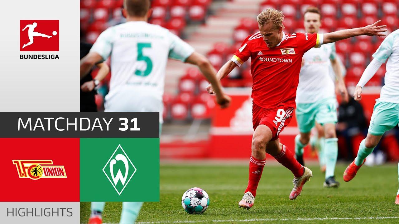 Download Union Berlin - SV Werder Bremen   3-1   Highlights   Matchday 31 – Bundesliga 2020/21