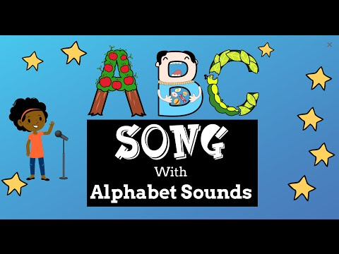 ABC Song with Alphabet Sounds  Easy ESL Games