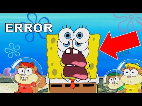 Spongebob Animation Errors That Slipped Through Editing 8