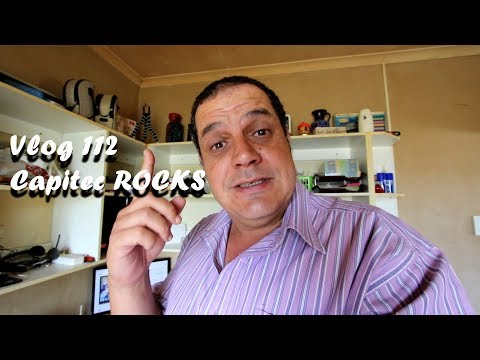 Vlog 112 Capitec Bank ROCKS - The Daily Vlogger in Afrikaans