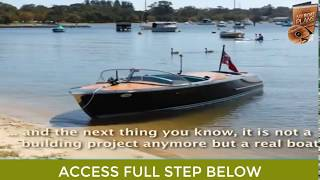 Plans to Build a Boat Step by Step - Boat Building Plywood Mp3
