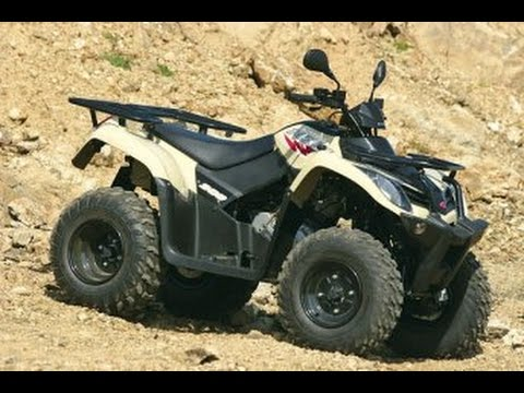 illen 2 test petit rando quad kymco mxu 300 youtube. Black Bedroom Furniture Sets. Home Design Ideas