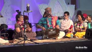 HG  Gaura Vani Prabhu Singing in Sadhu Sanga Retreat 2015 on Day 2 HD Video