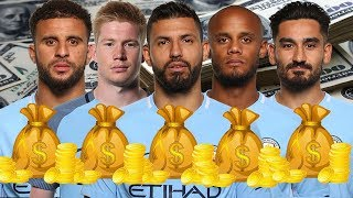 Manchester City Players Salaries 2018 (Weekly Wages)