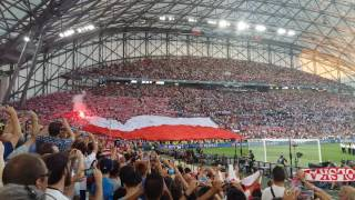 Poland national anthem quarter final euro 2016 vs Portugal