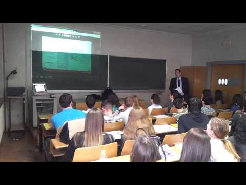 My first Forex lecture at the Faculty of Economics, University of Zagreb