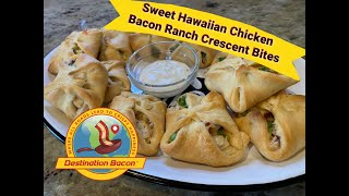 How to Make Sweet Hawaiian Chicken Bacon Ranch Crescent Bites